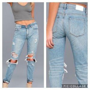 Pistola Jeans Remy Slim Boyfriend distressed  NWT